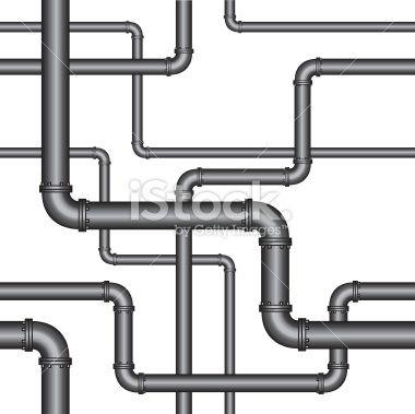 galvanised-pipework