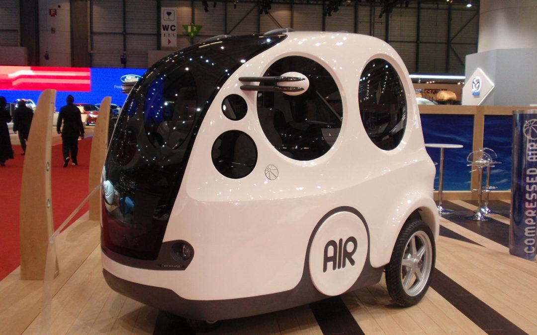 How do air powered cars work?