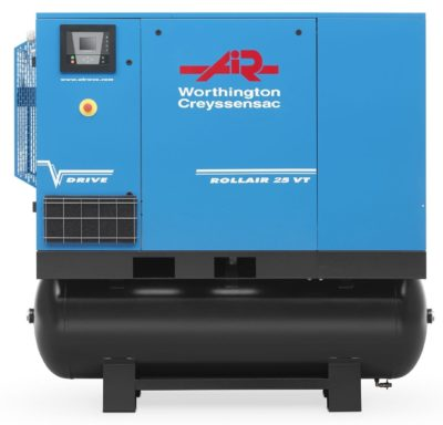 product image - Worthington Rollair 25VT-500 Variable Speed Tank & Dryer